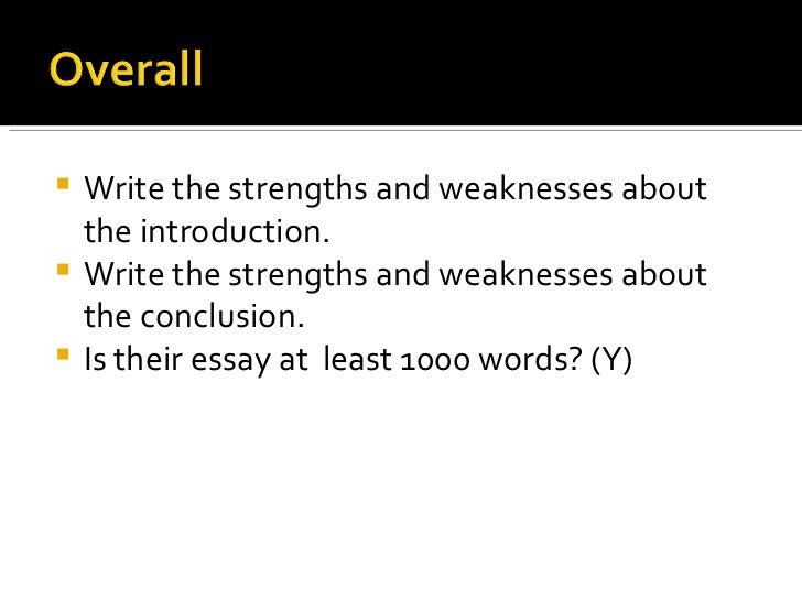macbeths strengths and weaknesses essay I have strengths and weaknesses myself writers always learn from their mistakes and other writers, including myself for starters, i'll begin with my strengths.