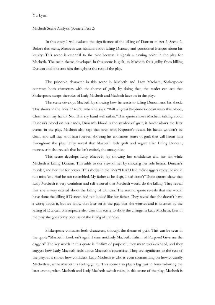 essay on how macbeth and lady macbeth change Get free homework help on william shakespeare's macbeth: play summary, scene summary and analysis and original text, quotes, essays, character analysis, and filmography courtesy of cliffsnotes in macbeth , william shakespeare's tragedy about power, ambition, deceit, and murder, the three.