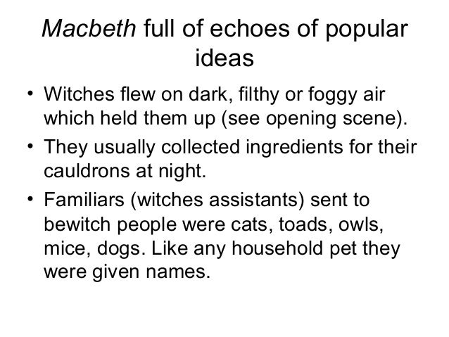 macbeth witches spell