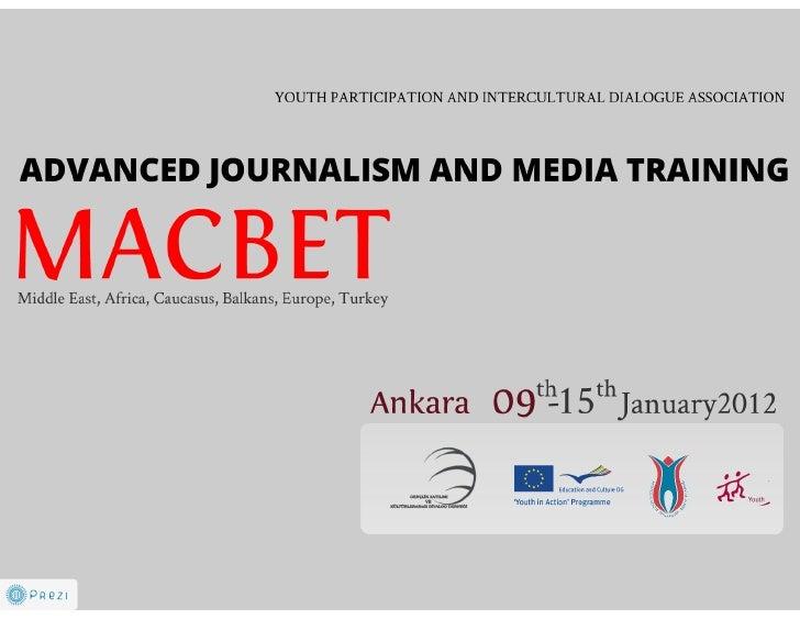MACBET Media Project Draft