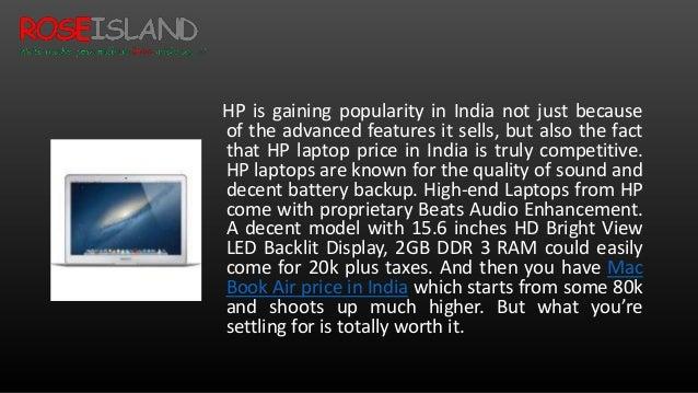 Macbook Air Price in India