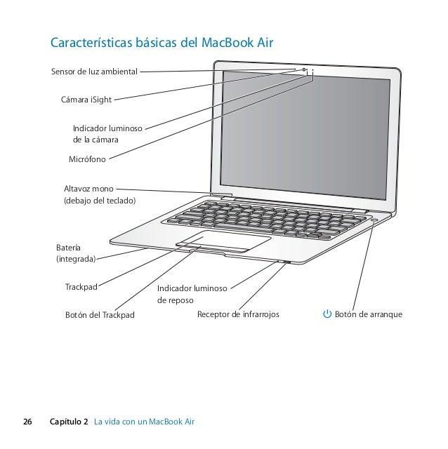 Mac Book Air Manual Del Usuario border=