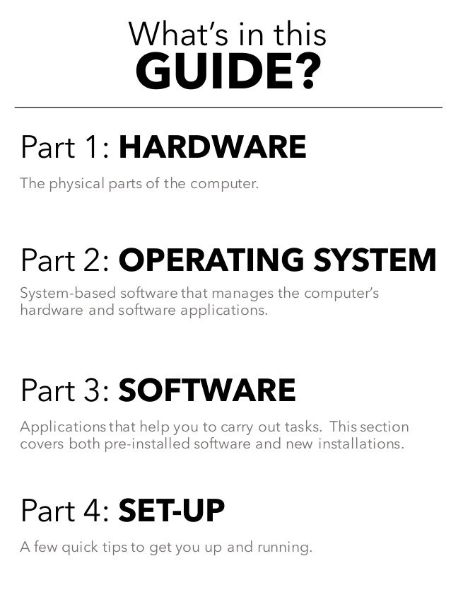 MacBook Air Reference Guide