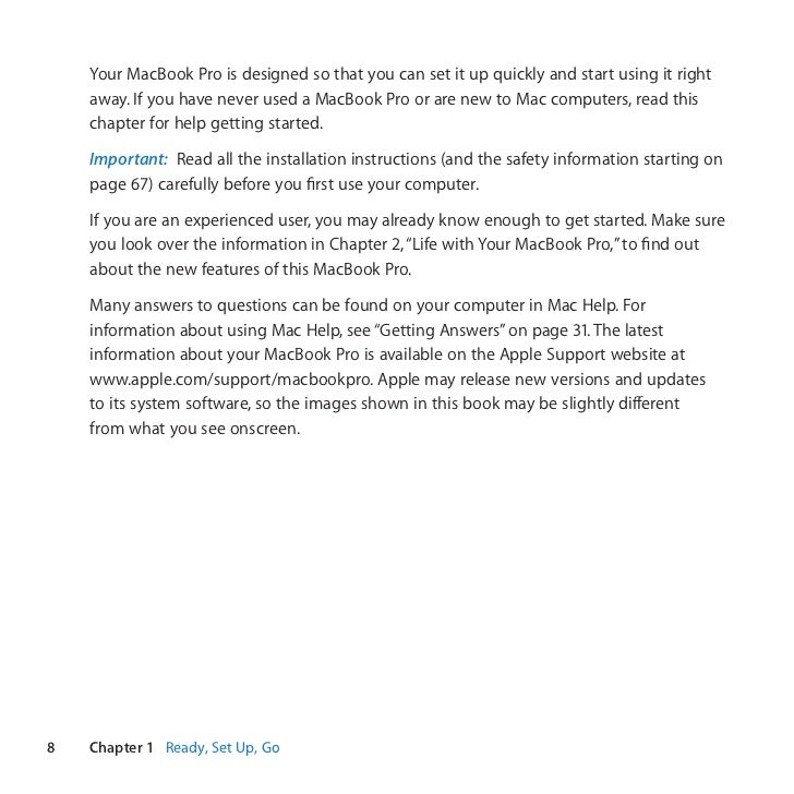 macbook pro users guide daily instruction manual guides u2022 rh testingwordpress co MacBook Pro Bags 2011 MacBook Pro 15 Inch