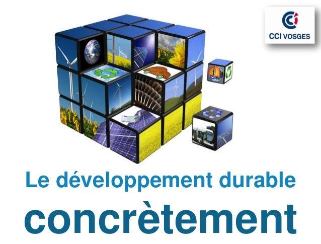Promotion du DD communicationDéveloppement durableUne importantecommunication