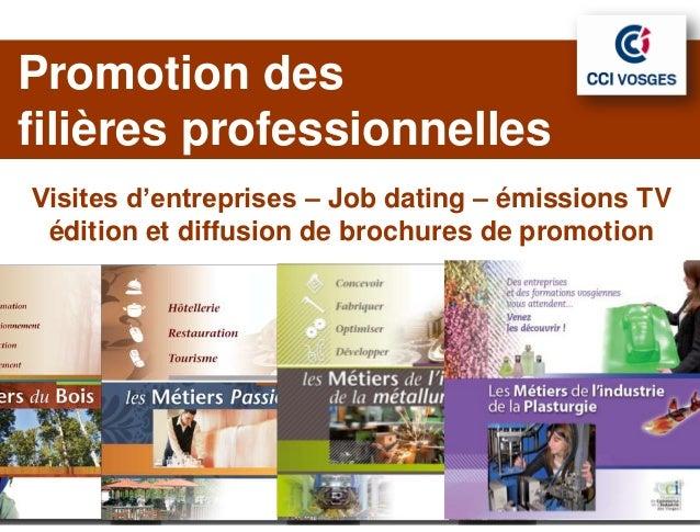 Promotion des  JLPOfilières professionnelles