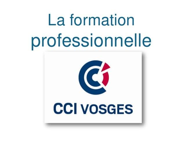 La formation initialeet continue           80 stagiaires à l'IPC-Negoventis           110 apprentis au CFA de Sainte-     ...