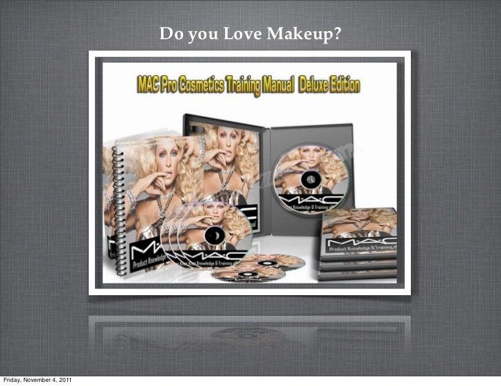 ☆ Mac Pro Makeup 'Bible' ☆ 1800+ Face Makeup Cosmetics Training Manual on Disc ☆