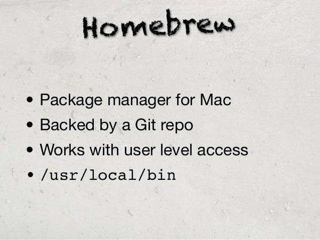 Mac OSX Software Developer Productivity Tips