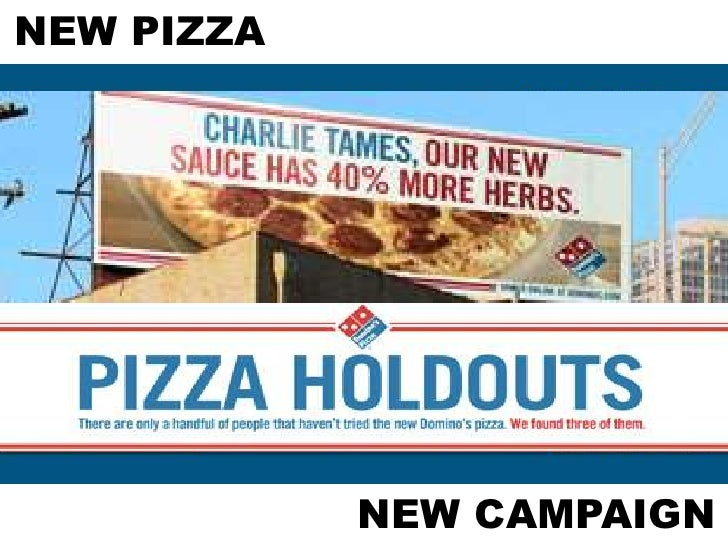 dominos campaign 11062018 domino's is offering to fix potholes on your local streets so you can carry out pizza safely you can nominate your town on the campaign website.