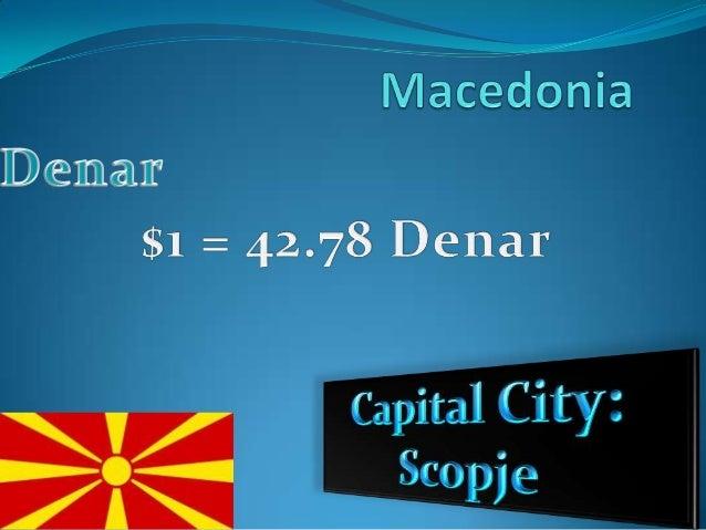 Macedonia money