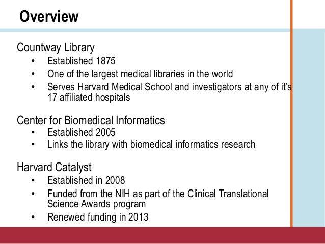 APLIC 2014 - Douglas MacFadden on Harvard Catalyst Slide 2