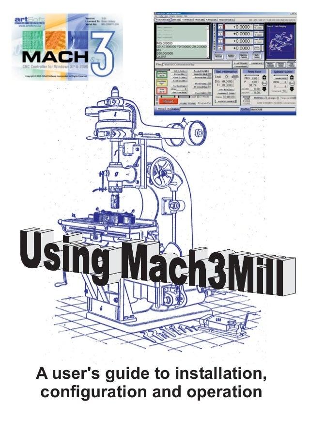 Mach3 mill 1 84