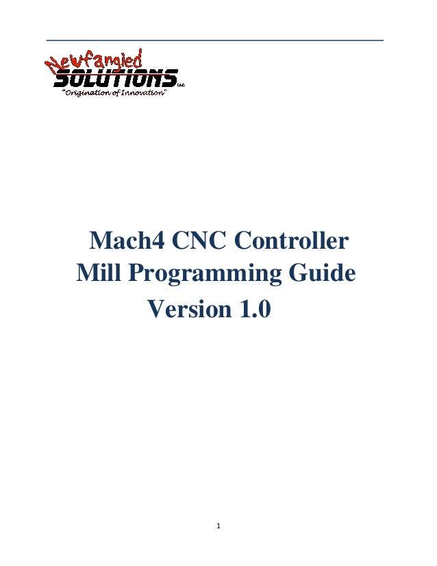 Mach4 mill-g code-manual