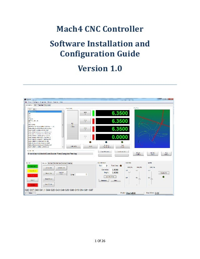 Mach4 installation manual