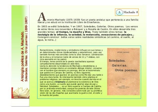 Antología Poética De Antonio Machado