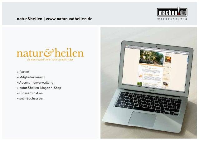 »» Forum »» Mitgliederbereich »» Abonnentenverwaltung »» natur&heilen-Magazin-Shop »» Glossarfunktion »» solr-Suchserver n...