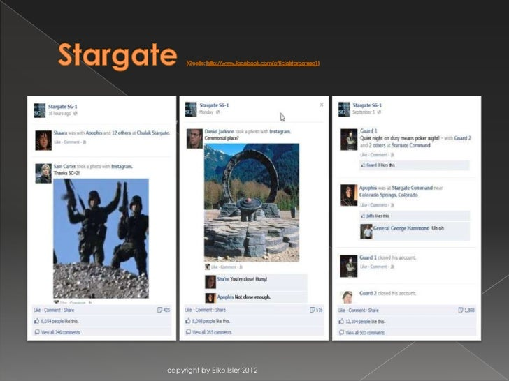    Stargate SG1             copyright by Eiko Isler 2012