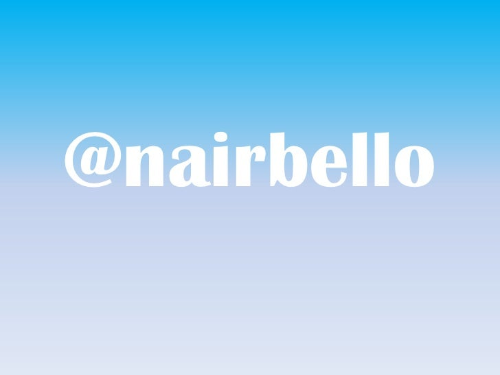 @nairbello<br />