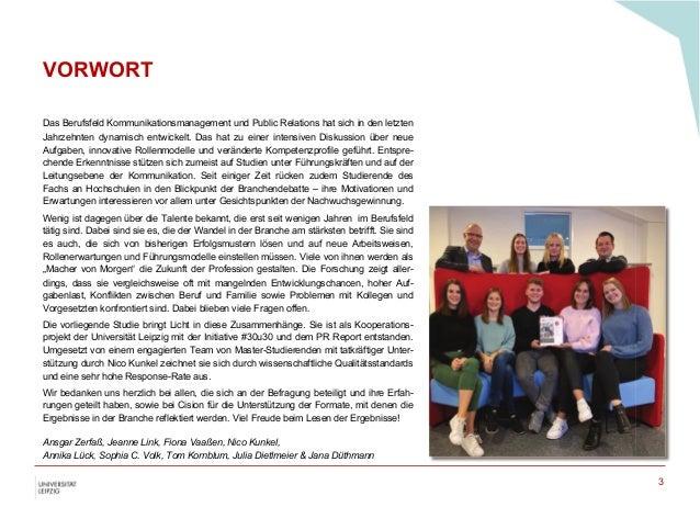 Die Macher von Morgen - Eine deutschlandweite Studie zu jungen Berufstätigen und Talenten im Berufsfeld Kommunikationsmanagement und Public Relations Slide 3