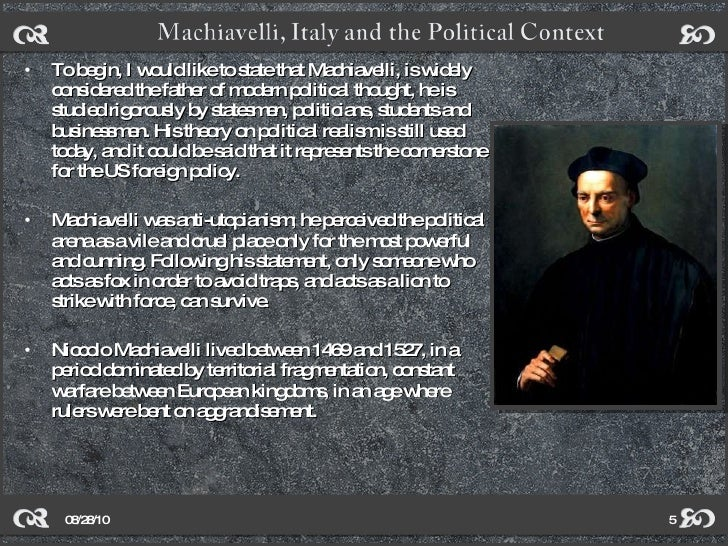 Machiavelli and the Italian City States