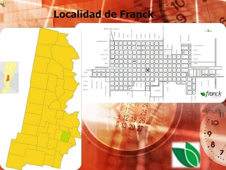 Localidad de Franck