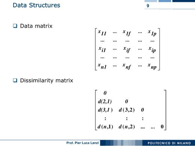Machine Learning and Data Mining: 06 Clustering: Introduction