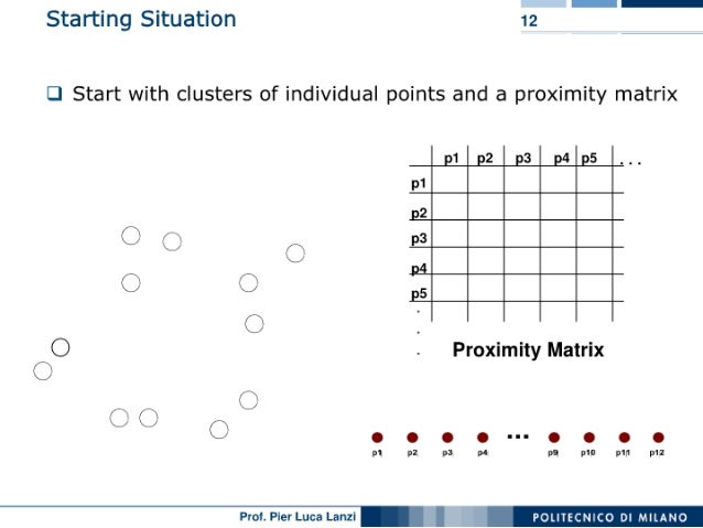 Machine Learning and Data Mining: 08 Clustering: Hierarchical