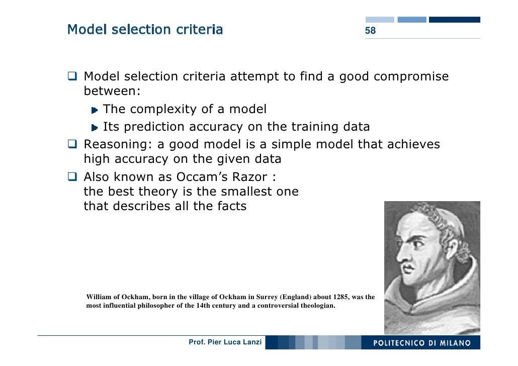 Model selection criteria                                                              58      Model selection criteria att...