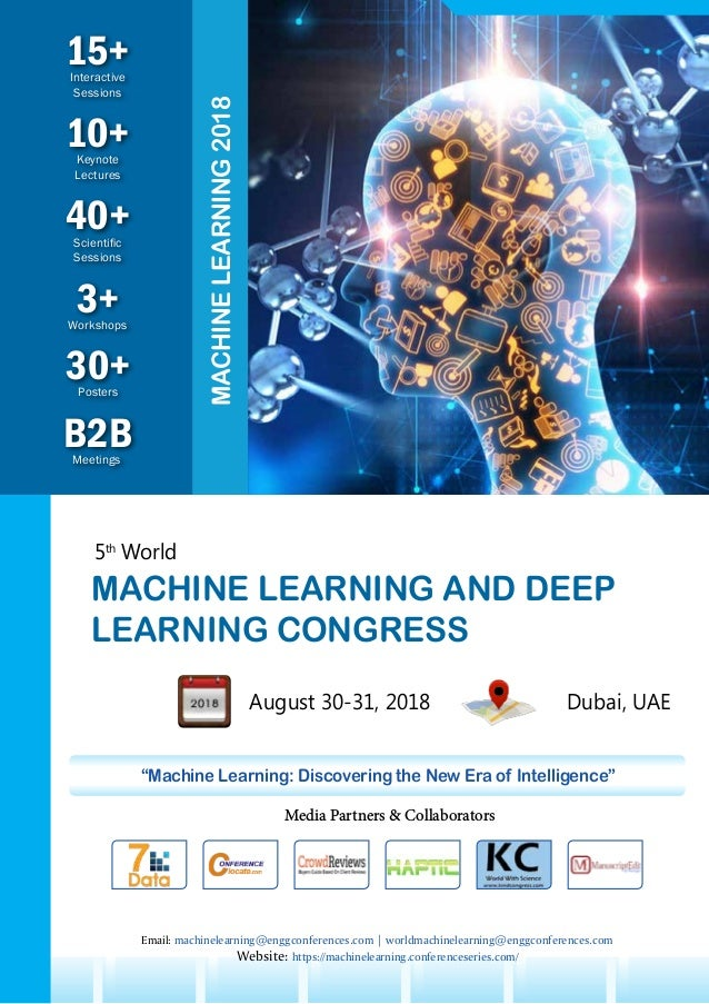 5th World Machine Learning and Deep Learning Congress