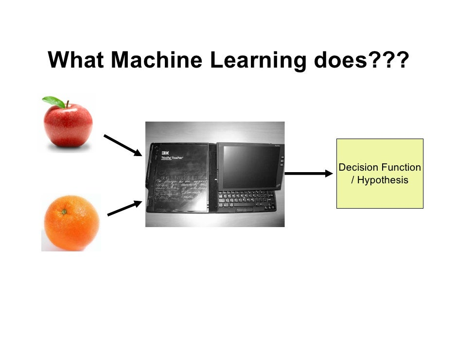 machine learning lecture