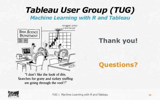 Machine Learning with R and Tableau