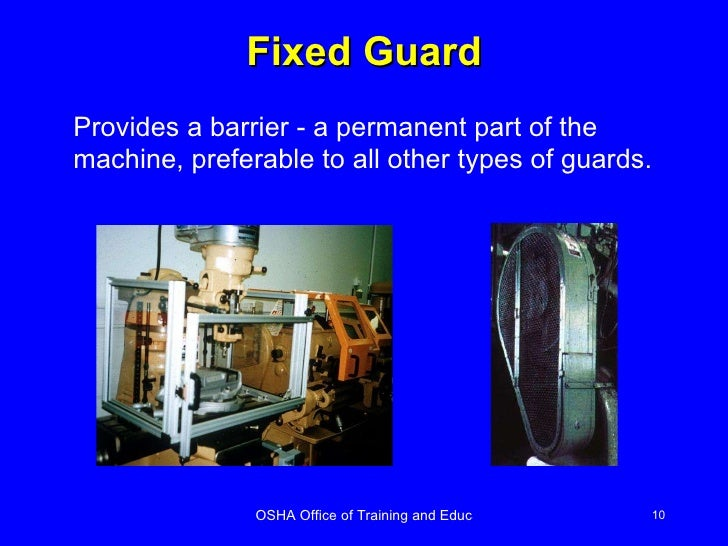 Machine Guarding Ppt