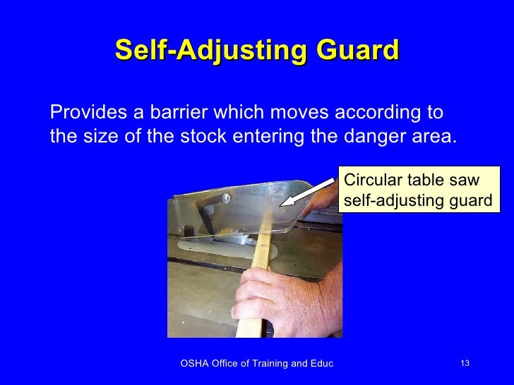 types of machine guard