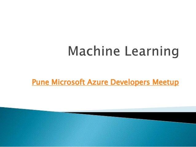 microsoft machine learning course