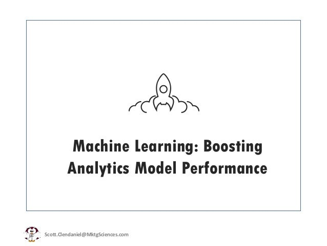 Machine Learning/ Data Science: Boosting Predictive