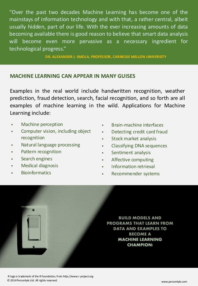 course machine learning