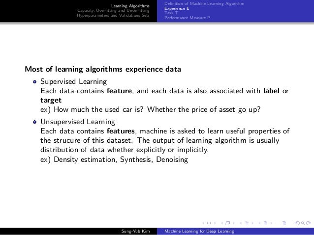 Machine learning for deep learning Slide 3