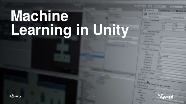 Machine Learning in Unity - How to give your game AI a real