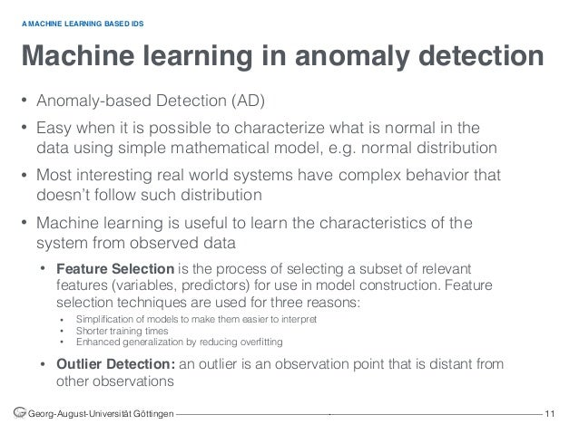 Using Machine Learning in Networks Intrusion Detection Systems