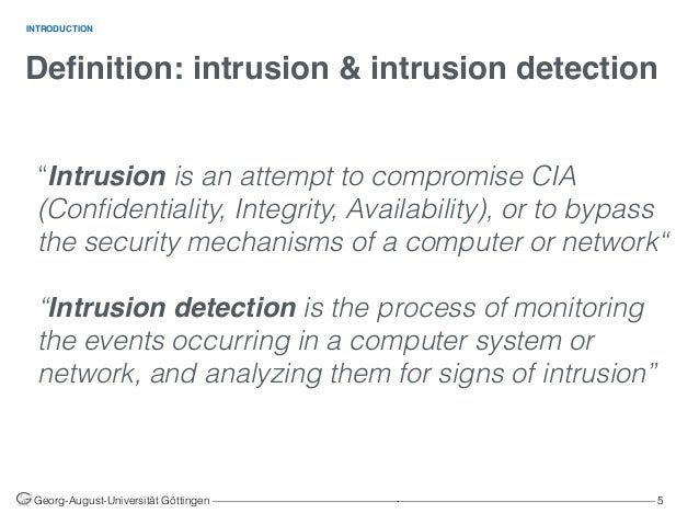 Systems Machine Detection Using In Networks Learning Intrusion