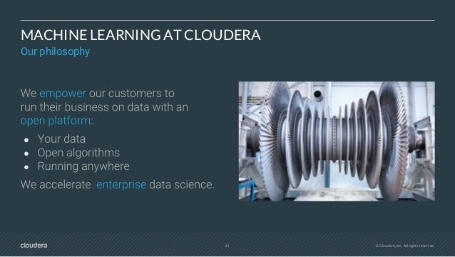 23 © Cloudera, Inc. All rights reserved. PLATFORM