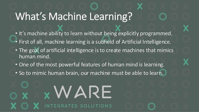Machine Learning: What it is and why it matters | SAS
