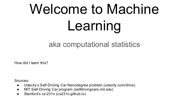 Machine learning pt.1: Artificial Neural Networks ® All Rights Reserved