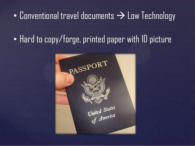 machine readable travel document