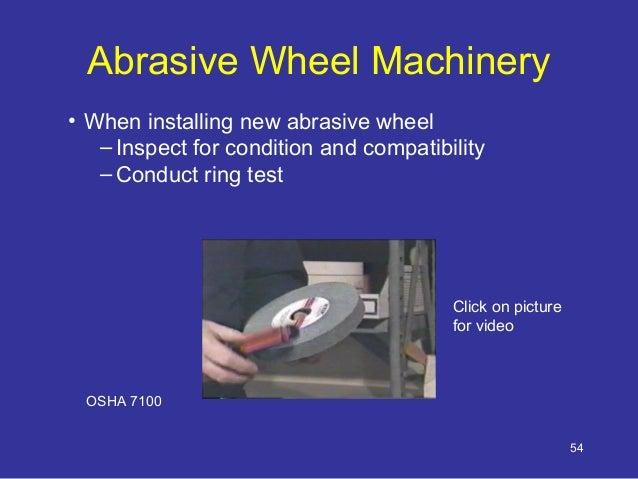 Machinery Safety Training By Osha