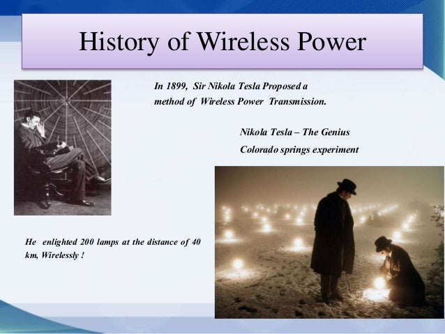 Wireless Electricity Frequency