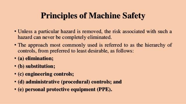 machine saftey