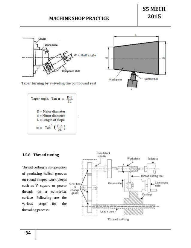 machine shop drawings