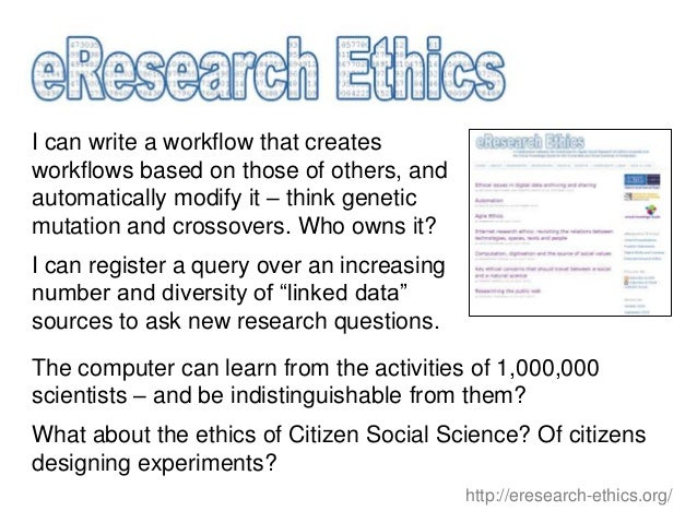 The Evolution of e-Research: Machines, Methods and Music